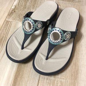 Women's Crocs Wedge Sandal
